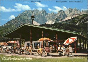Ellmau Tirol Ellmau Tirol Wochenbrunner Alm * / Ellmau /Tiroler Unterland