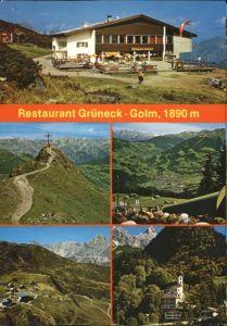 Tschagguns Vorarlberg Tschagguns Montafon Golm Restaurant Grueneck * / Tschagguns /Bludenz-Bregenzer Wald