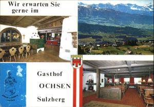 Sulzberg Vorarlberg Sulzberg Vorarlberg Gasthof Ochsen * / Sulzberg /Rheintal-Bodenseegebiet