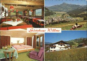 Kirchberg Tirol Kirchberg Tirol Gaestehaus Willms * / Kirchberg in Tirol /Tiroler Unterland
