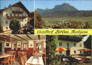 Thalgau Thalgau Salzburg Gasthof Braeu * / Thalgau /Salzburg und Umgebung
