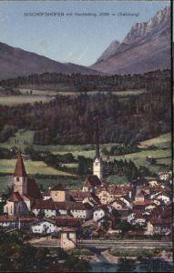 Bischofshofen Bischofshofen Hochkoenig Salzburg * / Bischofshofen /Pinzgau-Pongau