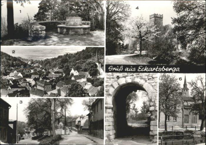 Eckartsberga Eckartsberga Goethebank Eckartsburg x / Eckartsberga /Burgenlandkreis LKR