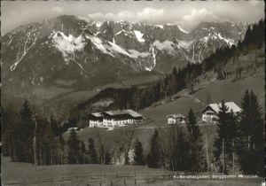 Oberau Berchtesgaden Oberau Berchtesgaden Berggasthof Heissbaeck x / Berchtesgaden /Berchtesgadener Land LKR