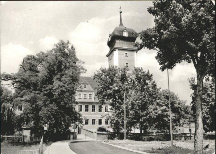 Delitzsch Delitzsch Schloss Kreisheimatmuseum Kreisgericht x / Delitzsch /Nordsachsen LKR