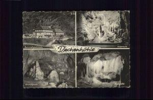 Dechenhoehle  Dechenhoehle  Bahnhofsgaststaette Kaiserhalle Kristallgrotte Orgelgrotte x / Iserlohn /Maerkischer Kreis LKR