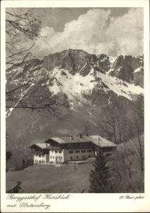 Oberau Berchtesgaden Oberau Berchtesgaden Gasthof Heissbaeck Untersberg * / Berchtesgaden /Berchtesgadener Land LKR