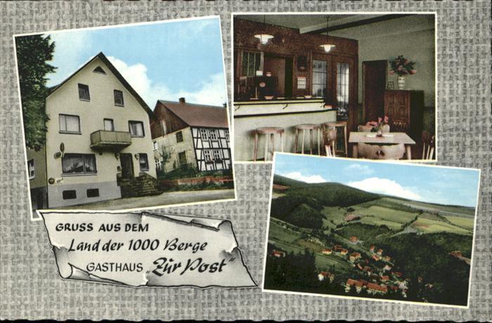 Titmaringhausen Gasthaus Zur Post *