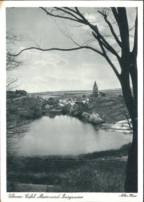 Ulmen Eifel Maar Burgruine *