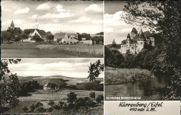 Kuerrenberg Schloss Burresheim x