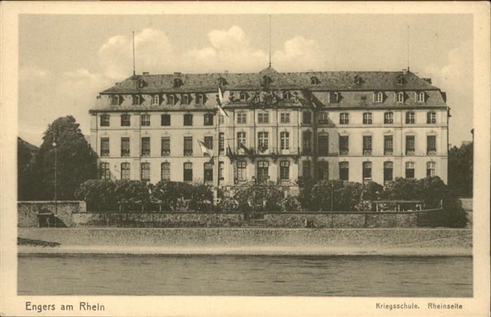 Engers Rhein Kriegsschule *