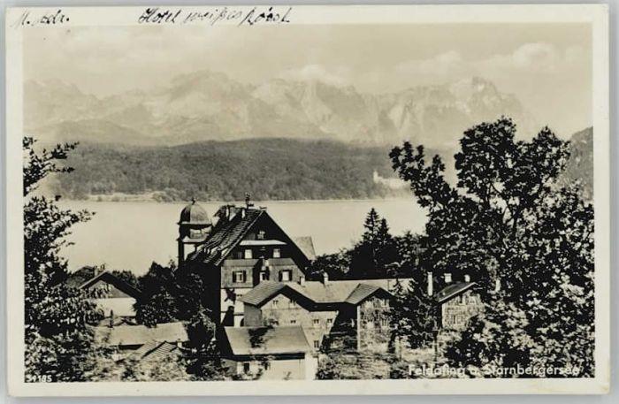 Feldafing Starnberger See x 1930