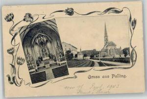 Palling Palling Oberbayern  o 1903 / Palling /Traunstein LKR
