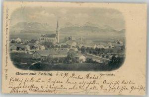 Palling Palling Oberbayern  x 1898 / Palling /Traunstein LKR