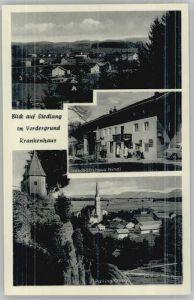 Palling Palling Oberbayern Geschaeftshaus Nindl Krankenhaus   / Palling /Traunstein LKR