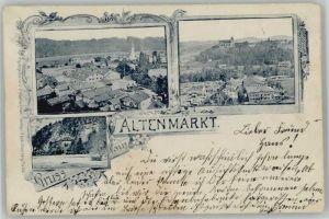 Altenmarkt Alz Altenmarkt Alz  x 1897 / Altenmarkt a.d.Alz /Traunstein LKR