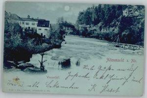 Altenmarkt Alz Altenmarkt Alz  x 1898 / Altenmarkt a.d.Alz /Traunstein LKR