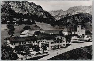Oberau Berchtesgaden Oberau Berchtesgaden Gasthof Auerwirt ungelaufen ca. 1955 / Berchtesgaden /Berchtesgadener Land LKR