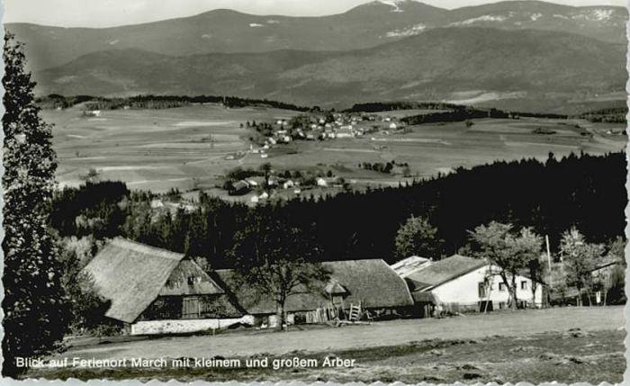 March Niederbayern March Niederbayern  ungelaufen ca. 1955 / Regen /Regen LKR