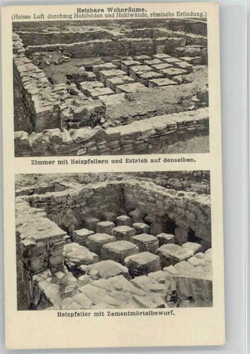 Eining Eining Roemerkastell ungelaufen ca. 1920 / Neustadt a.d.Donau /Kelheim LKR