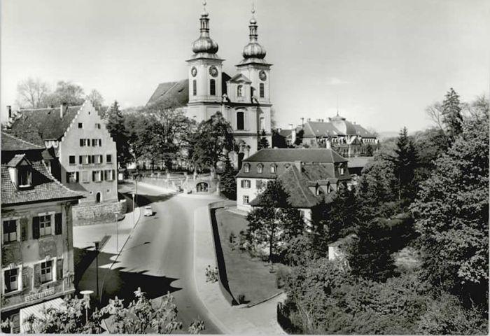 Donaueschingen Donaueschingen Stadtkirche * / Donaueschingen /Schwarzwald-Baar-Kreis LKR