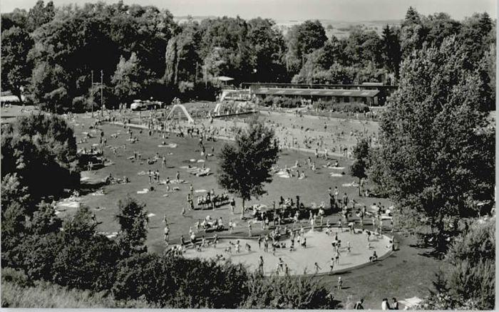 Donaueschingen Donaueschingen Parkschwimmbad * / Donaueschingen /Schwarzwald-Baar-Kreis LKR