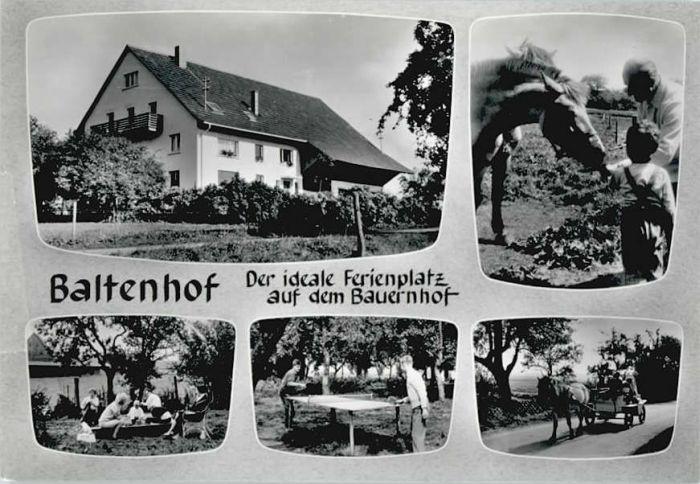 Donaueschingen Donaueschingen Baltenhof Bauernhof * / Donaueschingen /Schwarzwald-Baar-Kreis LKR