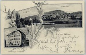 Velburg Velburg Rentamt Burgruine x 1909 / Velburg /Neumarkt LKR