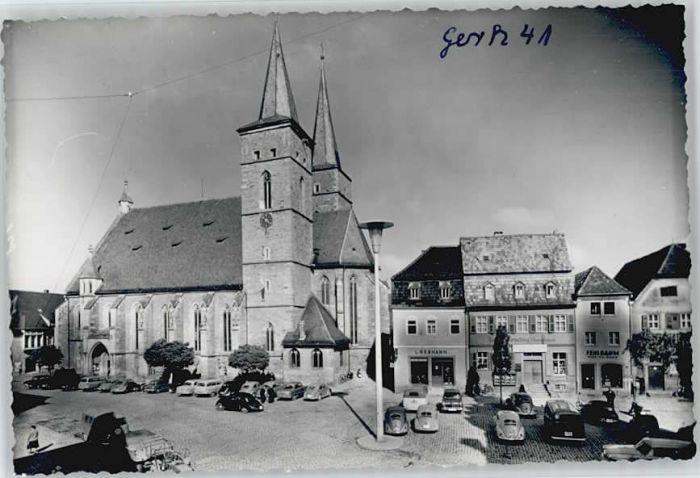 Gerolzhofen Marktplatz *