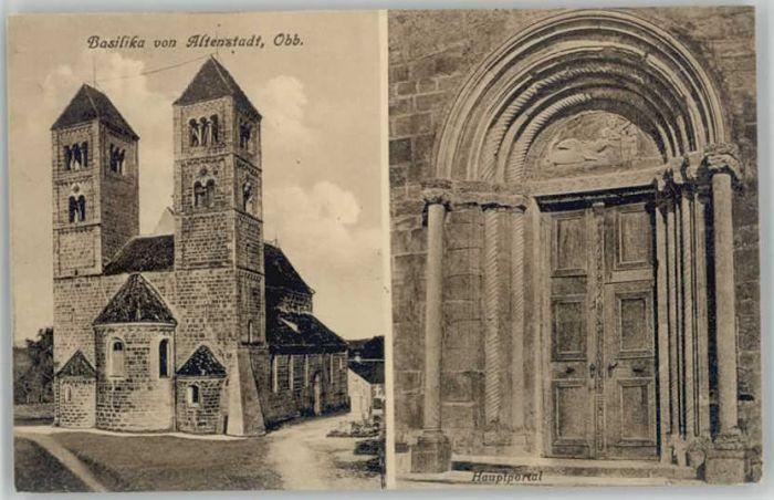 Altenstadt Oberbayern Altenstadt Schongau Basilika * / Altenstadt /Weilheim-Schongau LKR