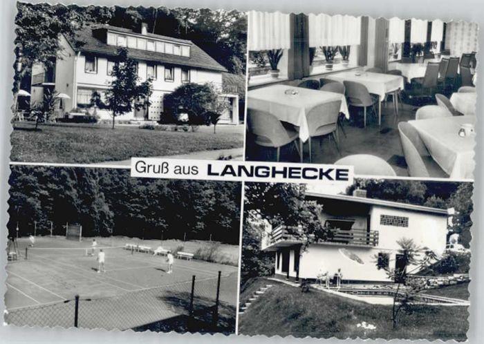 Langhecke Tennisplatz *