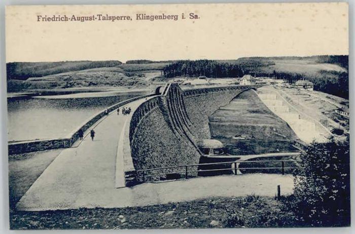 Klingenberg Sachsen Friedrich August Talsperre *