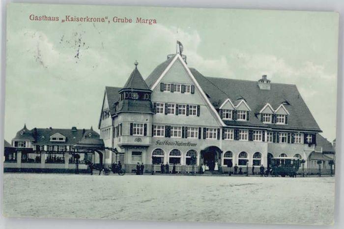 Grube Marga Grube Marga Gasthaus Kaiserkrone x / Senftenberg /Oberspreewald-Lausitz LKR