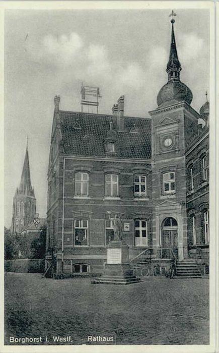 Borghorst Westfalen Rathaus *