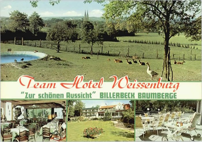 Billerbeck Westfalen Billerbeck Hotel Weissenburg * / Billerbeck /Coesfeld LKR