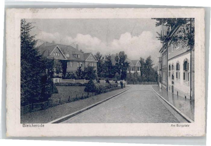 Bleicherode Bleicherode Burgplatz x / Bleicherode /Nordhausen LKR