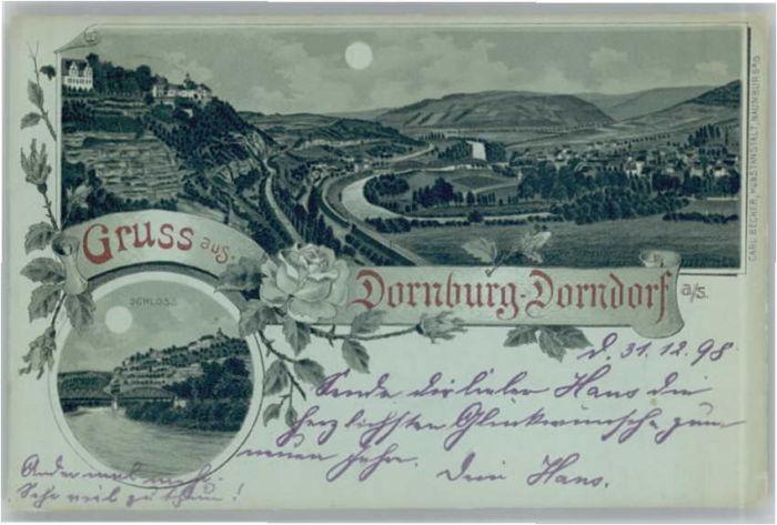 Dornburg Saale Dornburg Saale Schloss x / Dornburg Saale /Saale-Holzland-Kreis LKR