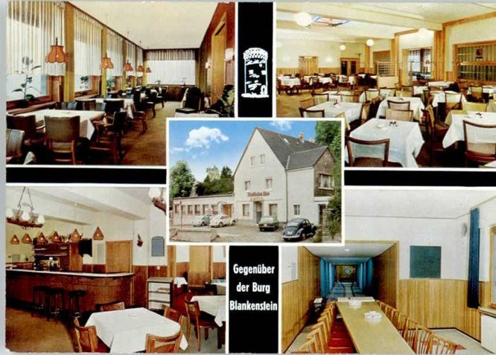 Blankenstein Ruhr Restaurant Haus Dimmers *