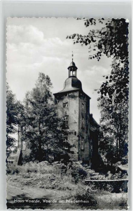 Voerde Niederrhein Haus Voerde  *