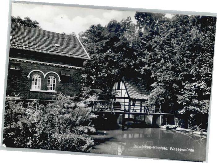 Hiesfeld Wassermuehle *