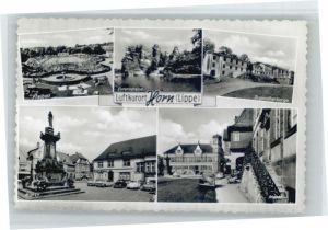 Horn Lippe Freibad Externsteine Jugendherberge Markt *