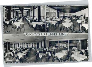 Horn Lippe Gaststaette Externsteine *