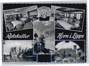 Horn Lippe Ratskeller Externsteine Rathaus *