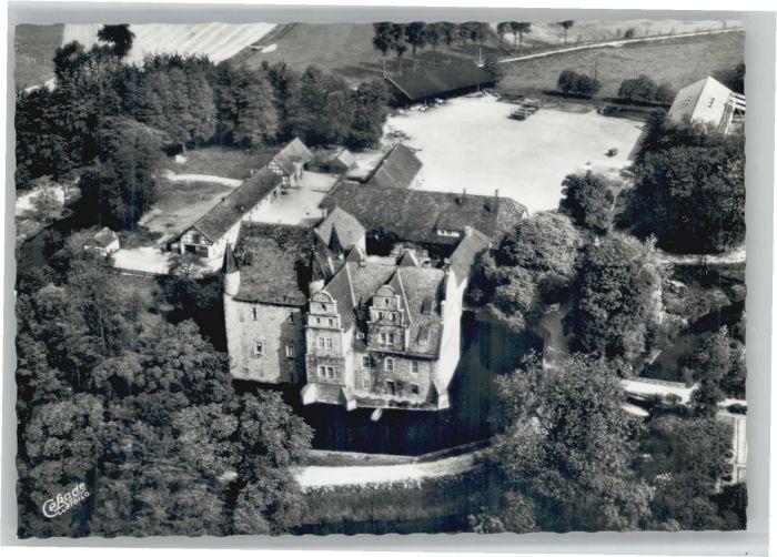 Schledehausen Schloss Schelenburg Fliegeraufnahme *