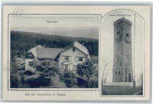 Haspe Hagen Haspe Kaiser Friedrich Turm x / Hagen /Hagen Stadtkreis