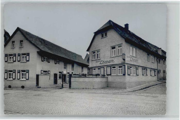 Nieder-Moerlen Nieder-Moerlen Gasthaus Zum Loewen * / Bad Nauheim /Wetteraukreis LKR