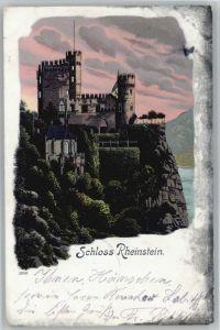 Trechtingshausen Trechtingshausen Schloss Rheinstein x / Trechtingshausen /Mainz-Bingen LKR