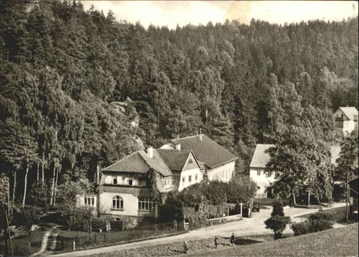 Rosenthal-Bielatal Gaststaette Ottomuehle  / Rosenthal-Bielatal /Saechsische Schweiz-Osterzgebirge LKR