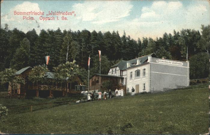 Oppach Oppach Sommerfrische Waldfrieden x / Oppach /Goerlitz LKR