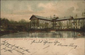 Gruena Sachsen Gruena Chemnitz Sanatorium  x / Chemnitz /Chemnitz Stadtkreis